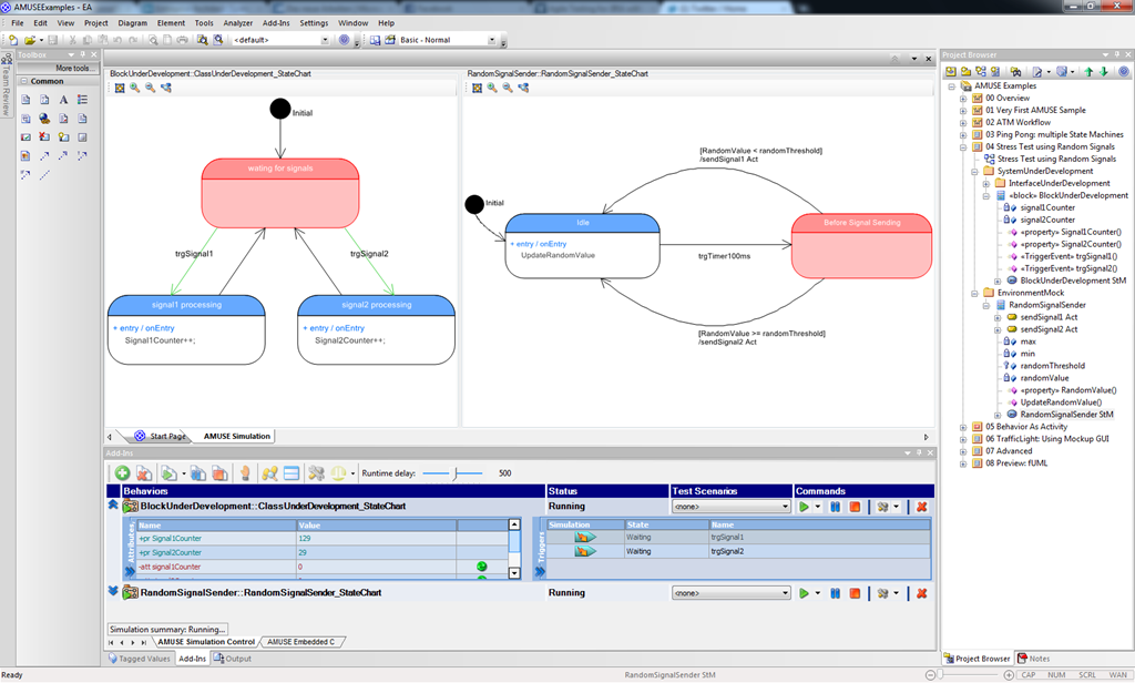 Amuse 20 your solution for uml simulation and execution in amuse own diagram viewer ccuart Images