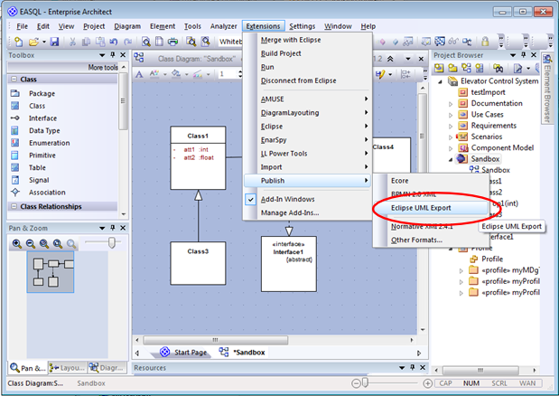 Export your ea models to eclipse uml lieberlieber software teamblog add ccuart Gallery